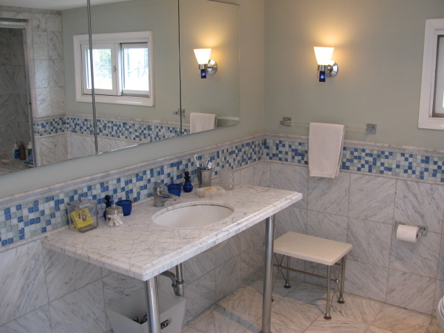 Tiled Master Bath